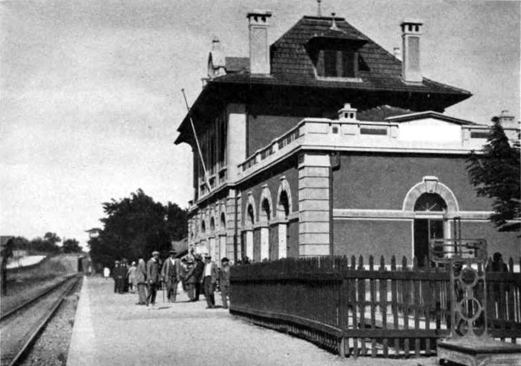 Bostanci train station around 1950s
