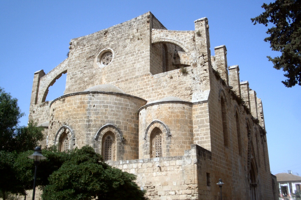Famagusta is full of Latin  period churches. Best of all Cyprus