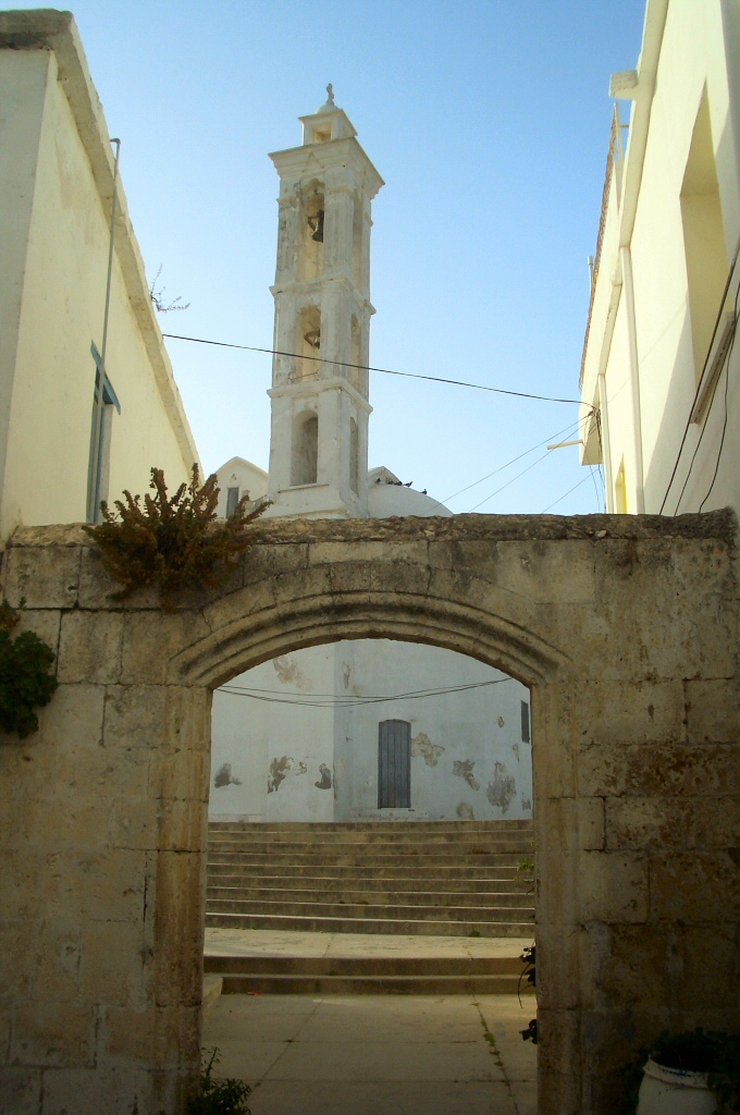 Churches in North Cyprus is in the process of deterioration.