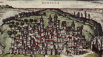 Mombaza - an old Portuguese colony