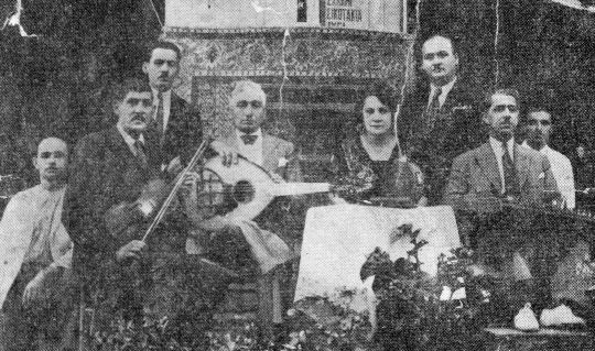A Group of Rembetes from 1925