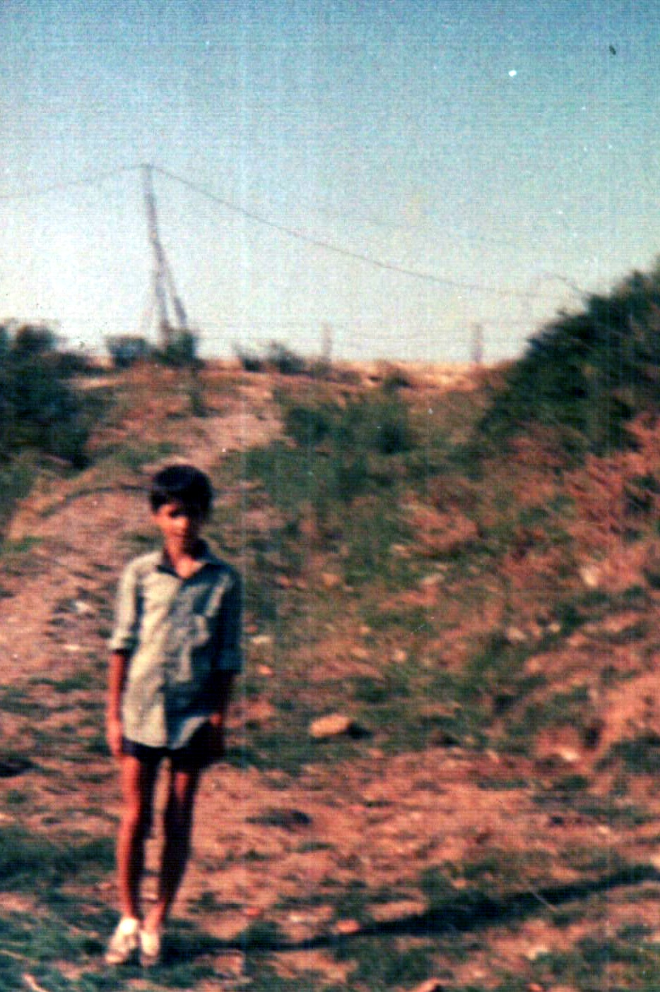 It's me in 1982 - a lazy summer afternoon in Zonguldak