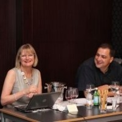 Jancis Robinson in wine tasting event in Turkey